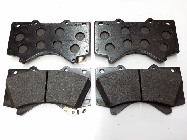 "FRONT BRAKE PADS....... Or Search For ""04465-AZ024-TM"" for Genuine Toyota Ceramic Economy Pads - Toyota (04465-0C020)"