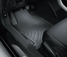 13'-17' HONDA ACCORD 4DR Black All Season Floor Mat Set - Honda (08P13-T2A-110)