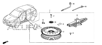 Genuine Acura 23421-PY5-010 Countershaft