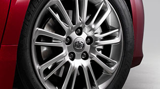 Camry 17-In Liquid-Metal Finish Wheels