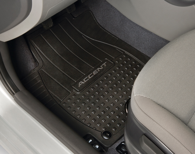 Floor Mats, All Weather - Hyundai (1R013-ADU00)
