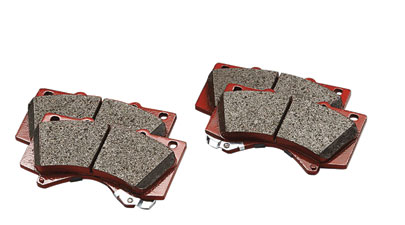 Trd Performance Brake Pads, Front - Toyota (PTR09-0C111)