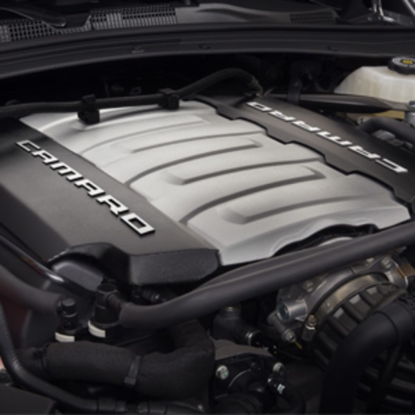 LT1 Black Engine Cover