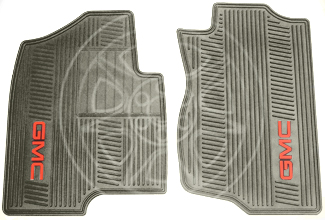 Floor Mats, All-Weather, Front - GM (19166593)