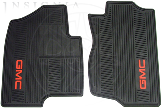 Floor Mats, All-Weather, Front - GM (12499644)