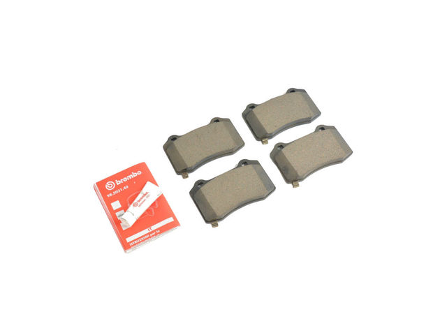 Rear Disc Brake Pad Kit - Mopar (68144223AC)