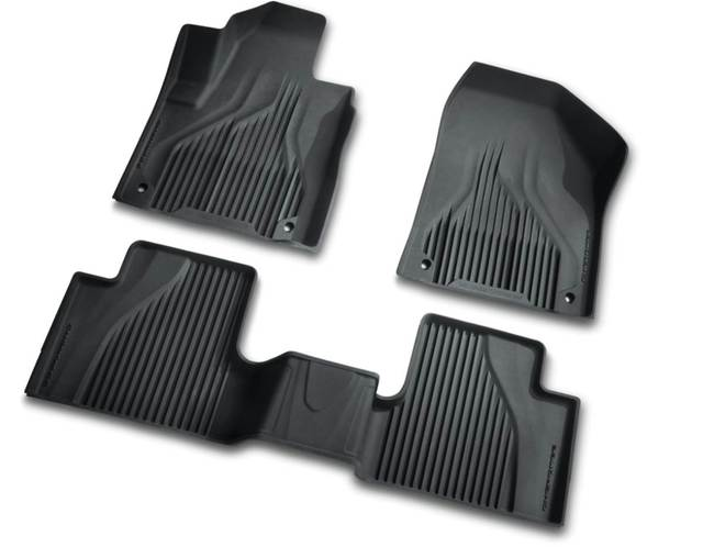 All Weather Mats Floor Mat, Black