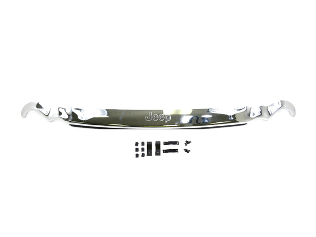 Air Deflector, Hood, Jeep Logo, Chrome - Mopar (82209033AC)