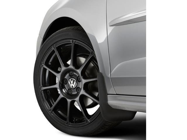 Splash Guards - Black - Front - Volkswagen (5C6-075-111)