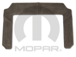 Floor Mats, Carpet, Middle Row, Dark Khaki - Mopar (82208383)