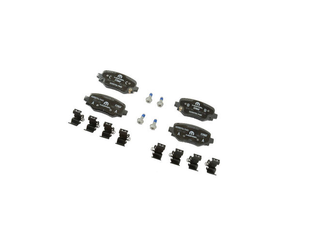 Rear Disc Brake Pad Kit - Mopar (68289634AA)