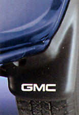 GUARD PKG, SPH (MOLDED) (BLACK) (FRT) (GMC LOGO)