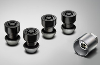 Wheel Nuts, Locking, Black - Jaguar (C2D42935)