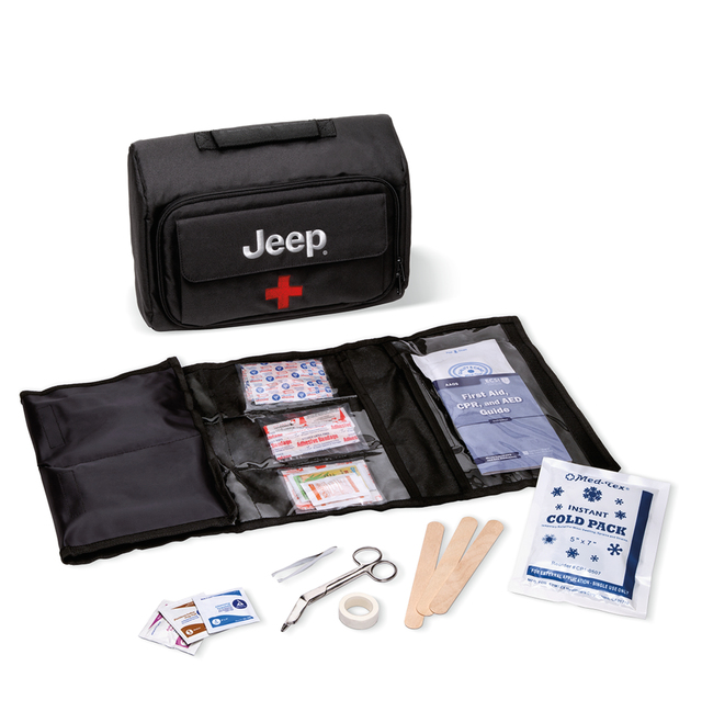 Safety, Roadside First Aid Kit, Jeep Logo - Mopar (82215912)