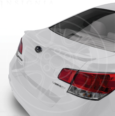 REAR SPOILER - WHITE SATIN PEARL 2010-2014 LEGACY