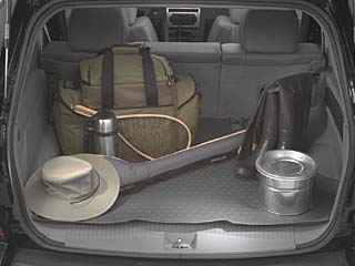 Cargo Area Tray - Molded - Slate Gray