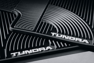 All Weather Mats 2PC Bcab Tundra - Toyota (PT908-34100-02)