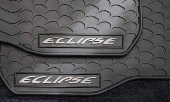 Eclipse Rubber Floor Mats, All Weather - Mitsubishi (MZ313508)