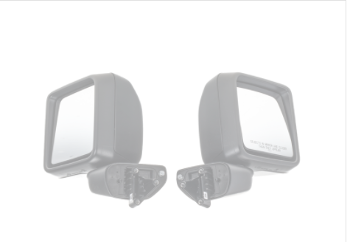 Trailer Tow Mirrors for JL Wrangler and Gladiator - Mopar (82215138)
