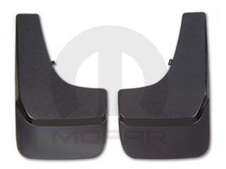 Splash Guards - Flat - Front - Mopar (82203706AB)