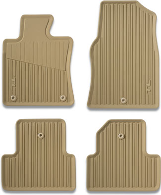 Floor Mats, All-Season, Parchment (Awd)