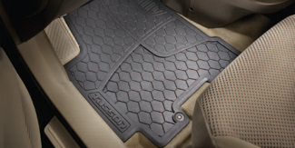 Floor Mats, All Weather Rear