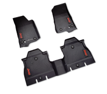 All-Weather Floor Mats - 4-Door