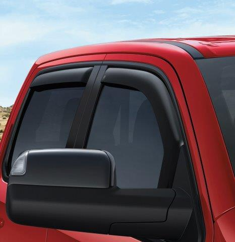 Side Window Air Deflectors - Quad Cab - Mopar (82215477)