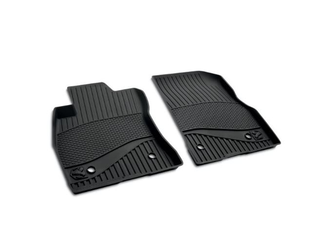 All-Weather Floor Mats - Black - Front Row
