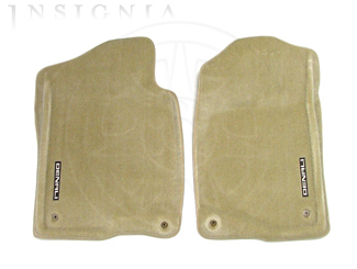 Floor Mats, Carpet, Front - GM (17800407)