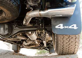 TRD PERFORMANCE EXHAUST SYSTEM - EXTRA CAB AND DOUBLE CAB SHORT BED