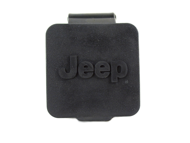 Hitch Receiver Plug - 2 Inch - W/ Jeep Logo - Mopar (82208453AB)