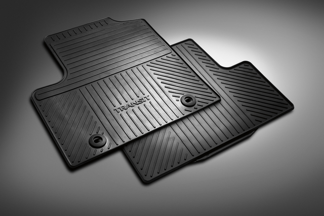 Floor Mats, All Weather, Rear Set