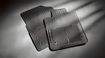 Floor Mats, All-Weather, Front Set, Black - Toyota (PT908-0710W-02)