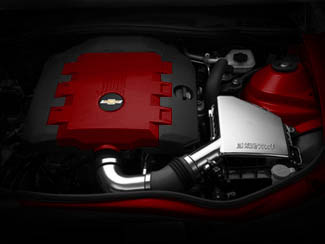 V6 Engine Cover Crystal Red