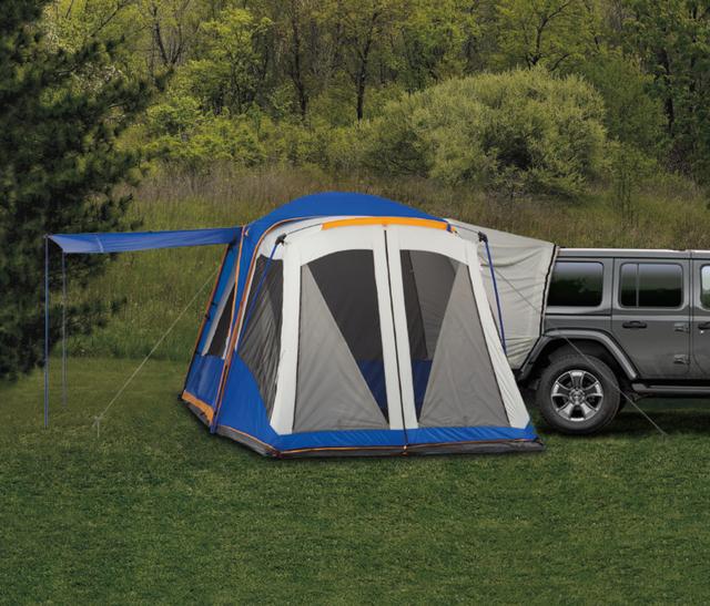 2012-2019 Mopar Tent, Blue And Gray 82212604
