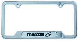 License Plate Frame, MAZDA6 Logo