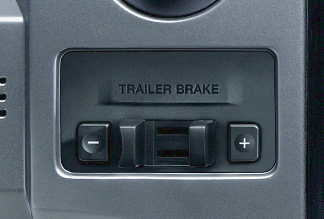 Trailer Brake Control (Vehicles W/ Tow/Max