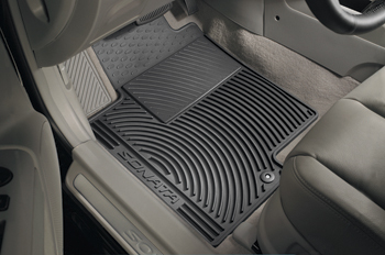 FLOOR MATS, ALL WEATHER - REAR