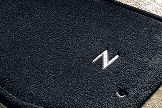 Floor Mats, Carpet, Metal Z Logo