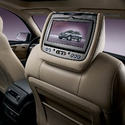 DVD Headrest System, Leather