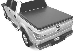 Tonneau Cover, Soft Roll-Up Style, 6.5' Bed