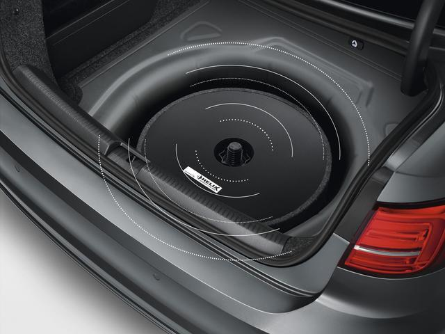 Spare Tire Mount Sub-Woofer / Sound Box
