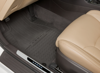 Floor Mats, All Weather ( black )