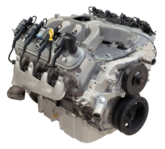Chevrolet Performance LS376/515 376ci 6.2L Crate Engine 533 HP @ 6600 RPM (19369335)