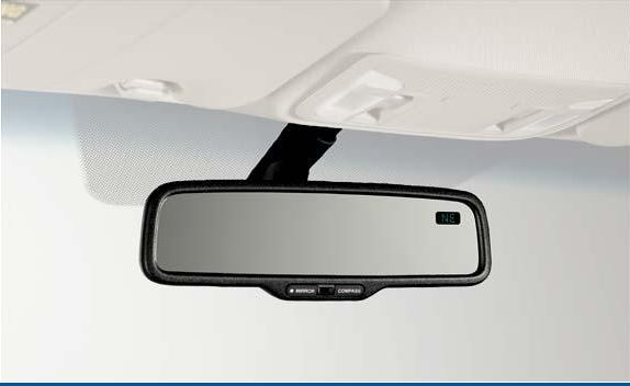 Automatic Dimming Mirror W/Compass - Acura (08V03-TR0-100A)