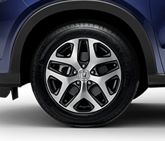 17-Inch Machine - Finish Alloy Wheels - Honda (08W17-T7S-100)