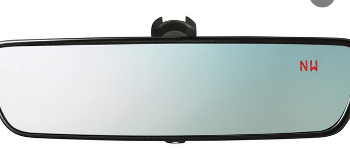 Mirror, Auto-Dimming With Compass