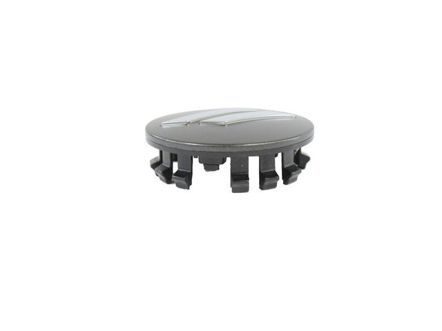 11-18 CHALLENGER CHARGER WHEEL CENTER CAP MATTE GRAY CHROME STRIPE OEM MOPAR - Mopar (6CZ27MALAA)