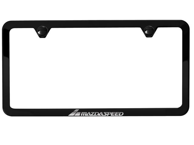 License Plate Frame W/Mazdaspeed Logo